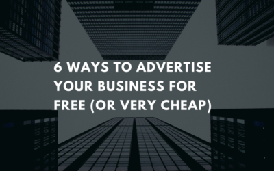 6 Ways to Advertise Your Business for Free (or very cheap)