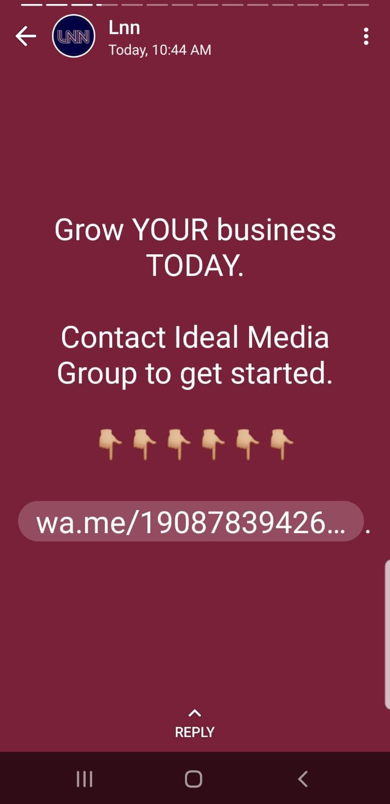 Lakewood News Network WhatsApp Status